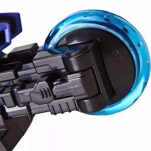 Power Ranger Samurai - Moto Espada - Mega Ranger Azul - Bandai