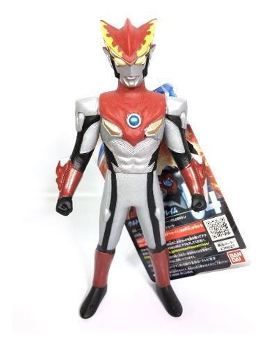 Ultraman - Rosso Flame - Ultra Hero Series N.54 - Bandai Original