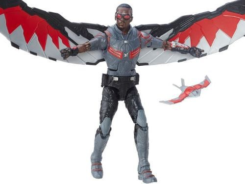 Marvel Legends Series - Marvel`s Falcon ( Falcão ) Captain America Civil War - Hasbro