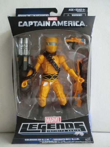 Marvel Legends - Capitão America - Soldados Da A.I.M. - Hasbro