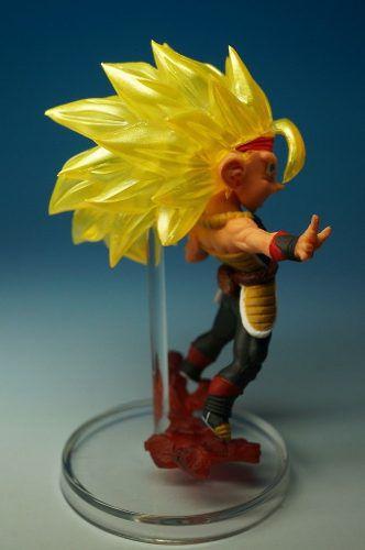 Dragon Ball Z - S.s 3 Bardock Figure - Gashapon Bandai