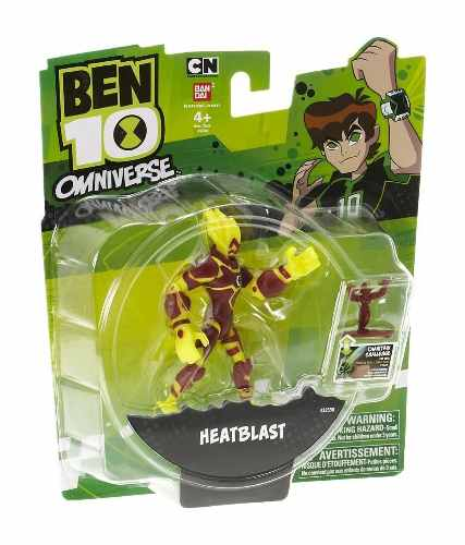 Ben 10 - Boneco Omniverse De 10cm - Chama - Bandai Original