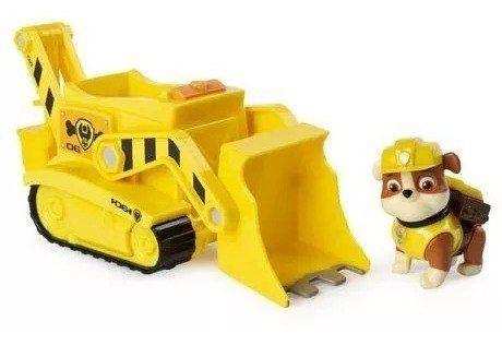 Rubble -patrulha Canina Veiculo Transforming Bulldozer Sunny