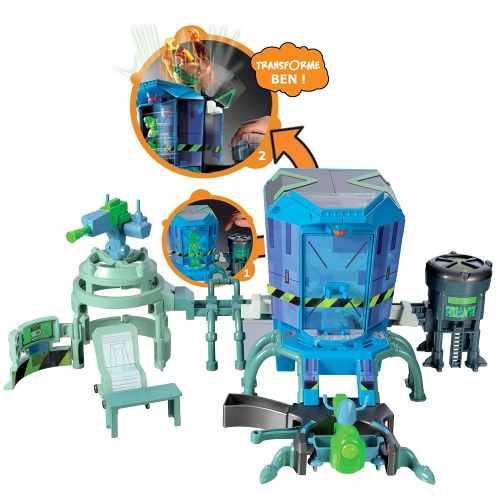 Ben 10 Playset - Centro De Mutação Alienígena + 2 Bonecos