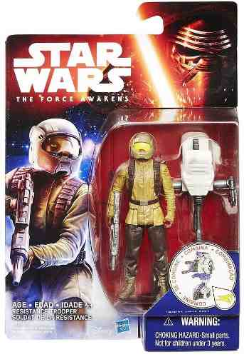 Star Wars The Force Awakens - Resistance Trooper - Hasbro