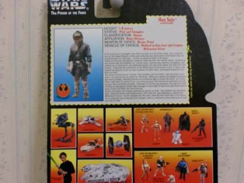 Star Wars - Han Solo Power Of The Force In Hoth Gear