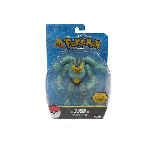 Pokemon - Boneco Machamp - 15 Cm Articulado - Original Tomy