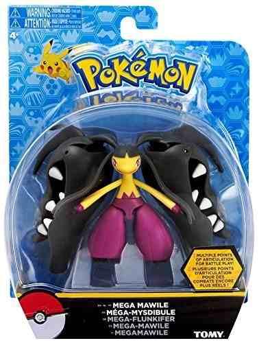 Pokemon - Boneco Mega Mawile - 15 Cm Articulado - Tomy