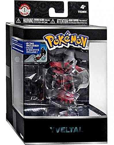 Pokemon Lendario Legendary - Yveltal 10 Cm Articulado - Tomy