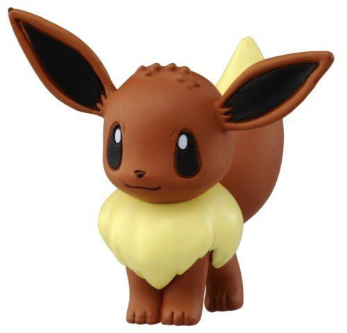 Pokemon - Eevee M-069 - Monster Collection - Takara Tomy