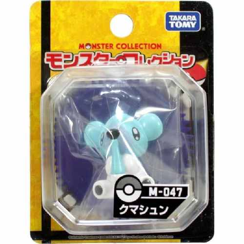 Pokemon - Kumasyun Cubchoo - M-047 - Monster Collection
