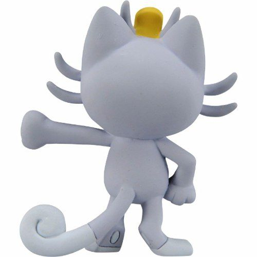 Pokemon - Alola Meowth - Emc-23 - Monster Collection - Takara Tomy