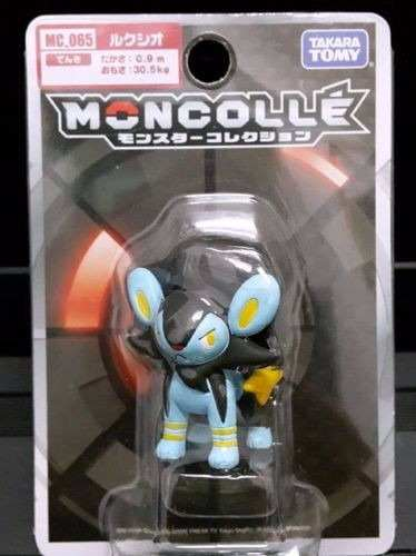 Pokemon - Luxio - Mc-065 Xy - Monster Collection - Takara Tomy