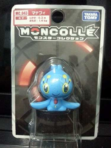 Pokemon - Manaphy - Mc-043 Xy - Monster Collection - Takara Tomy