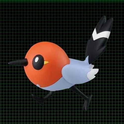 Pokemon - Yayakoma - Mc-009 Xy - Monster Collection - Takara Tomy
