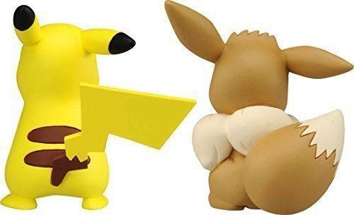Pokemon - Pikachu & Eevee - Esp-10 Xy - Monster Collection