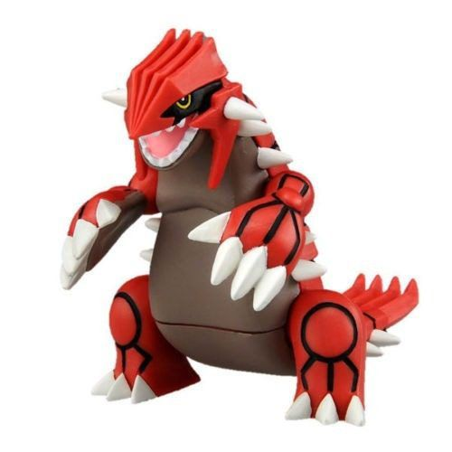 Pokemon - Ehp-08 Groudon - Monster Collection - Takara Tomy