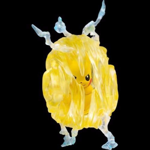 Pokemon - Pikachu Ezw-01 - Com Anel De Cristal - Takara Tomy