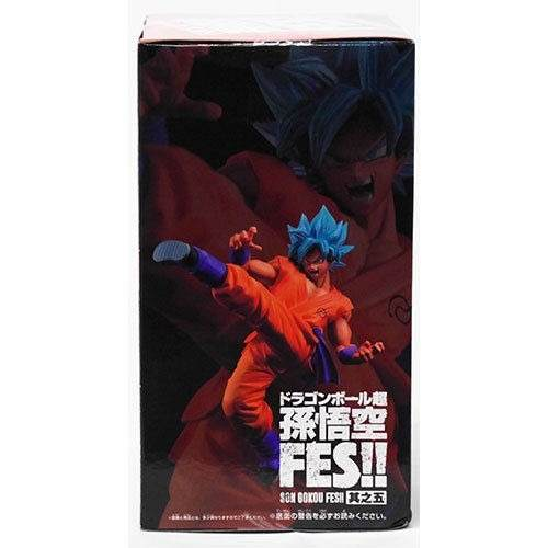 Dragon Ball  - Son Goku Blue Kaiohken - FES!! - Banpresto