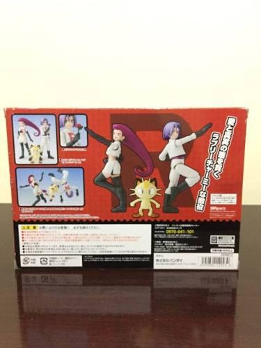 S.H. Figuarts - Pokemon Equipe Rocket ( Jesse, James E Meowth)