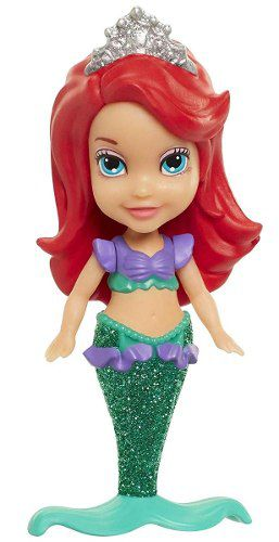 Mini Boneca - Princesas Da Disney - Sereia Ariel - Sunny