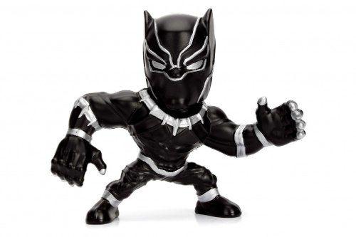 Boneco Pantera Negra/ Black Panther - Vingadores - Metals Die Cast