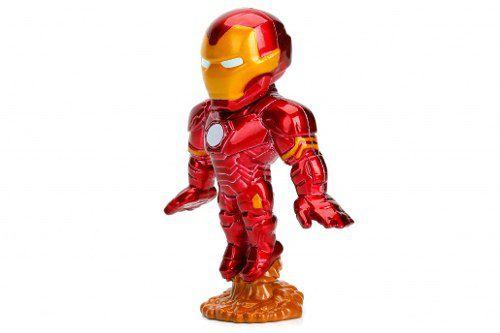 Boneco Ironman Homem De Ferro - Vingadores - Metals Die Cast
