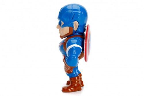 Boneco Capitão America - Vingadores - Metals Die Cast - Jada