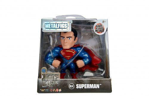 Boneco Superman - Liga Da Justiça Justice League - Metalfigs