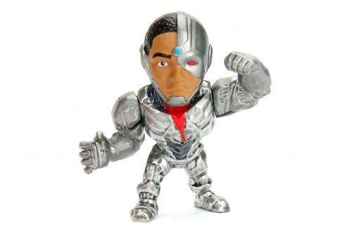 Boneco Cyborg - Liga Da Justiça Justice League - Metalfigs