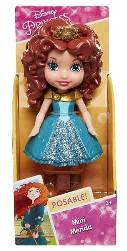 Mini Boneca Princesas Da Disney - Valente Merida - Sunny