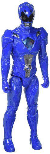 Boneco Power Rangers - O Filme- Ranger Azul Billy 30 cm - Bandai