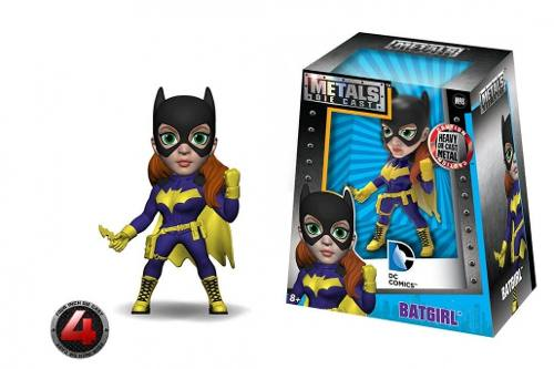 Boneca Batgirl - Dc Girls ( Batman )- Metals Die Cast - Jada