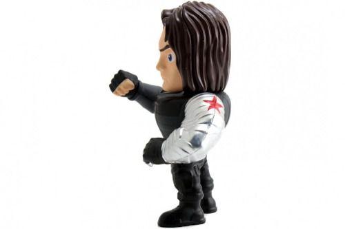 Boneco Bucky ( Soldado Invernal ) - Capitão America - Metals Die Cast