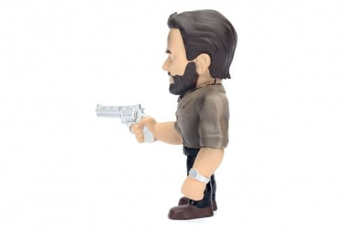 Boneco Rick Grimes - The Walking Dead - Metals Die Cast
