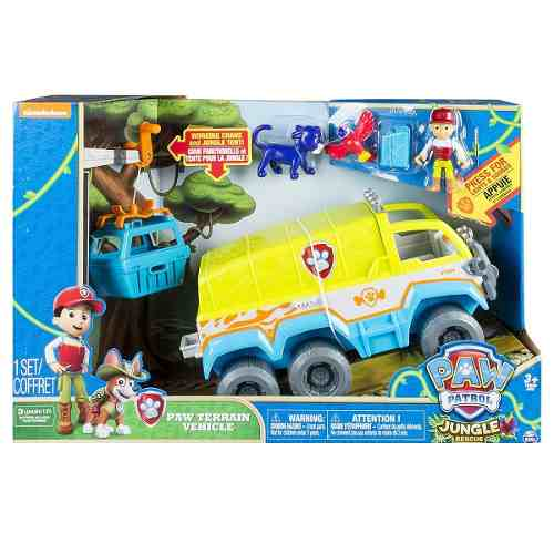 Patrulha Canina - Ryder Veículo De Resgate Na Selva - Sunny