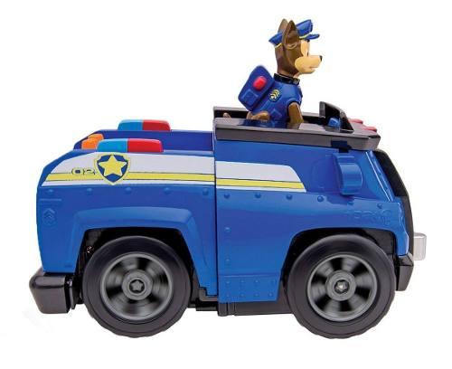 Chase - Patrulha Canina - Veiculo Com Luz E Som - Sunny