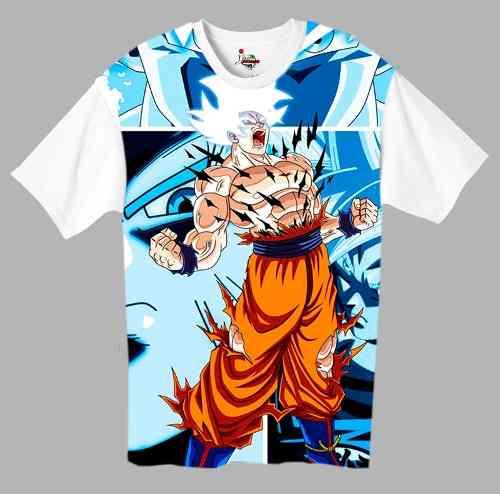 Camiseta Anime - Dragon Ball Super - Goku Migatte No Gokui