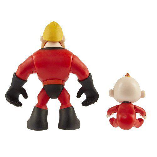 Os Incríveis 2- Bonecos Sr. Incrível E Zezé - Disney Pixar