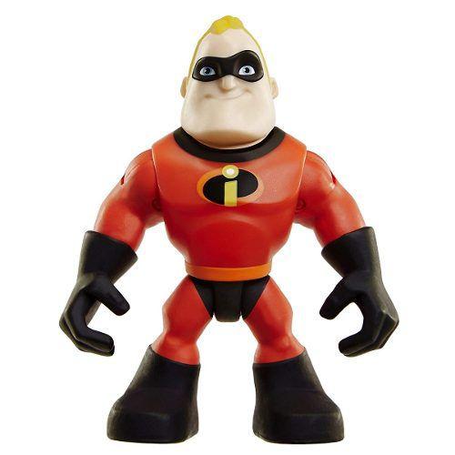 Os Incríveis 2 - Boneco Sr. Incrível E Carro - Disney Pixar