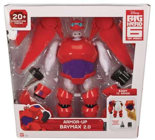 Big Hero 6 Tranformação - Boneco Armadura Baymax 2.0 - Bandai