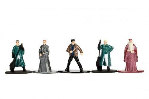 Harry Potter Nano Metalfigs - Coleção Com 5 Bonecos - Jada