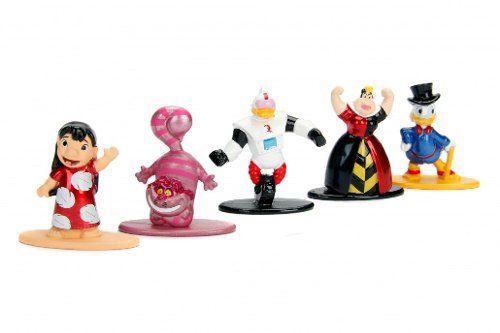 Disney Nano Metalfigs - 5 Bonecos - Jada Toys Original