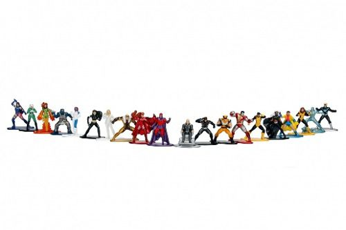 X-men Nano Metalfigs - Pack 20 Bonecos - Marvel - Jada Toys