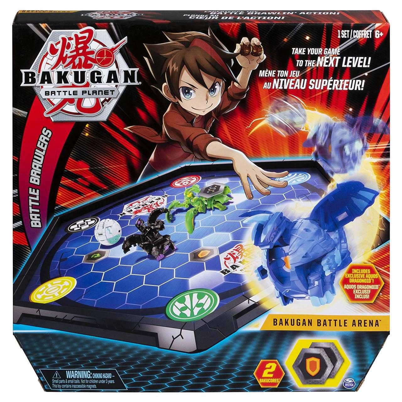 Arena de Batalha Bakugan - Com Aquos Dragonoid - Sunny
