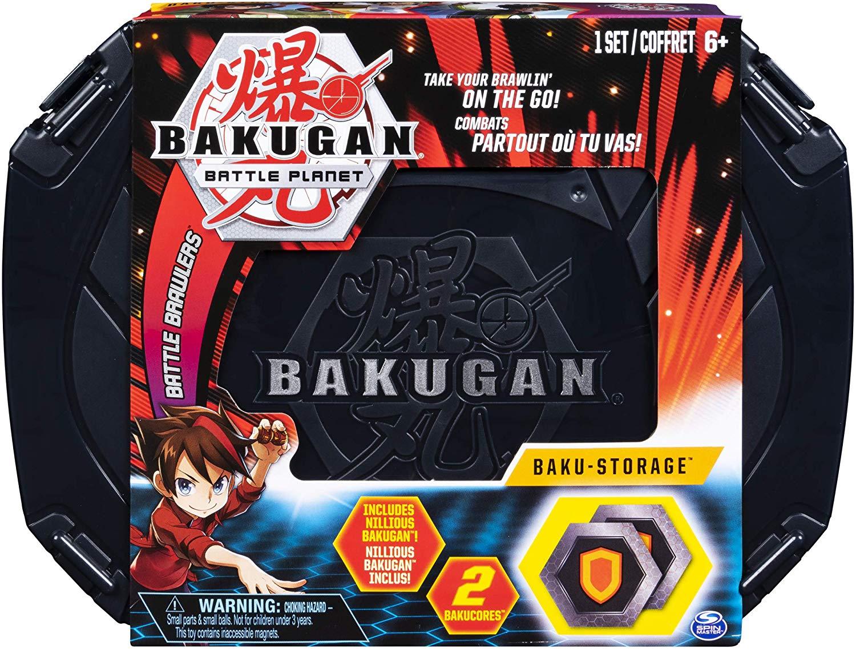 Bakugan - Case  Estojo Preto - 1 Bakugan Exclusivo - Sunny
