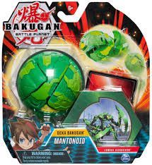 Bakugan Gigante com Card- Mantonoid - Bakucore Jumbo Sunny Original