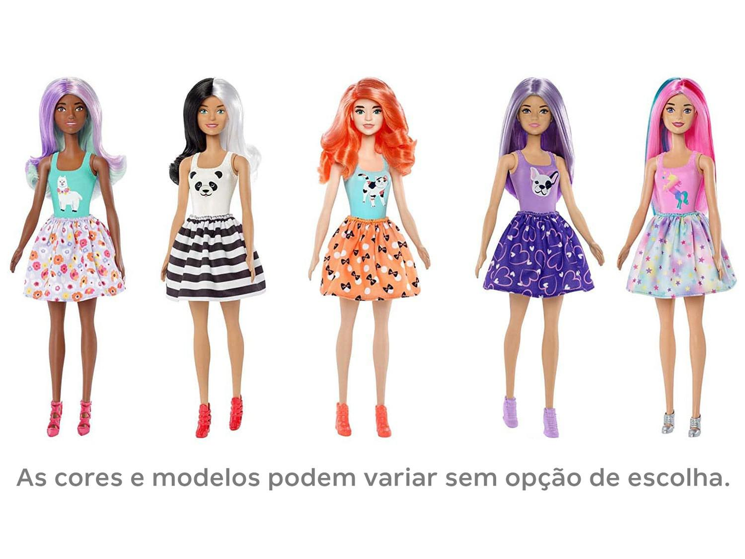 Barbie Fashionista - Color Reveal - Estilo Surpresa - Mattel GPG14