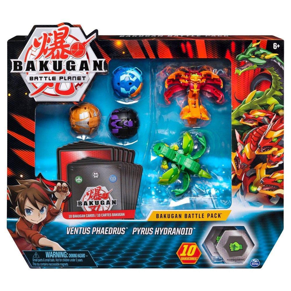 Batalha Bakugan - Ventus Phaedrus & Pyrus Hydranoid - Sunny