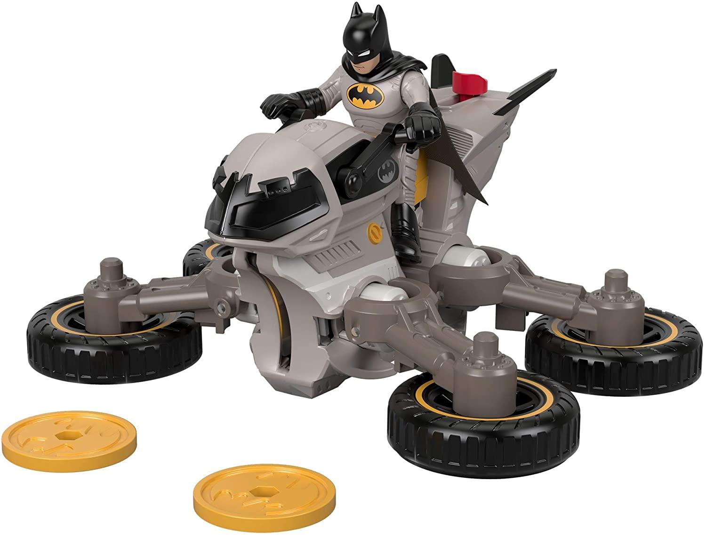 Boneco Batman & Batmoto DC Super Friends Imaginext - Mattel